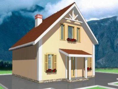 фото дома из газоблока